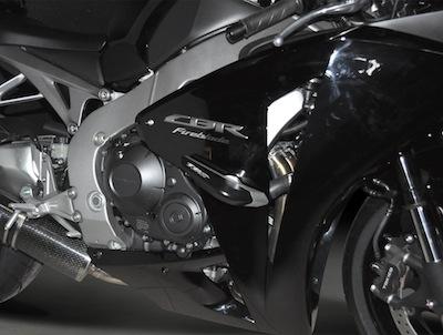 Top Block pour Honda CBR 1000 RR: protection et support de plaque.