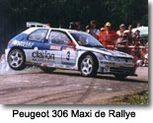 Peugeot 306 : prête pour les rallyes