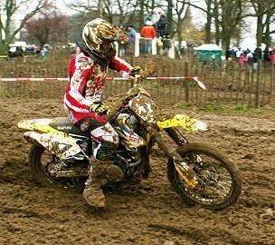 Thomer, 2ème manche MX1, encore Aubin