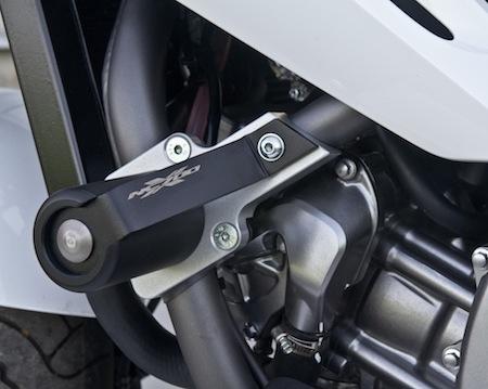Top Block protège la Honda NC 700X