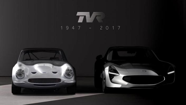 TVR : première image du retour de la marque
