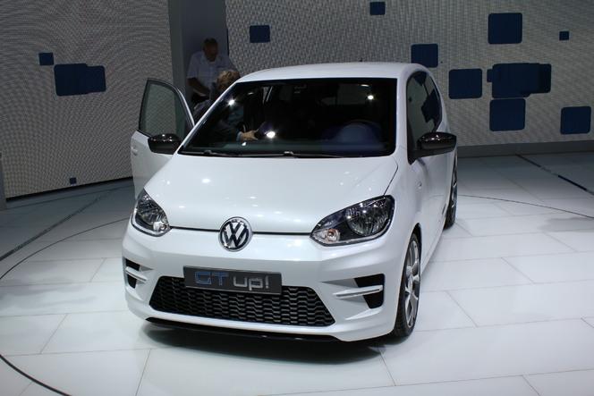 Francfort 2011 : Volkswagen GT Up! : des airs de Polo GTi