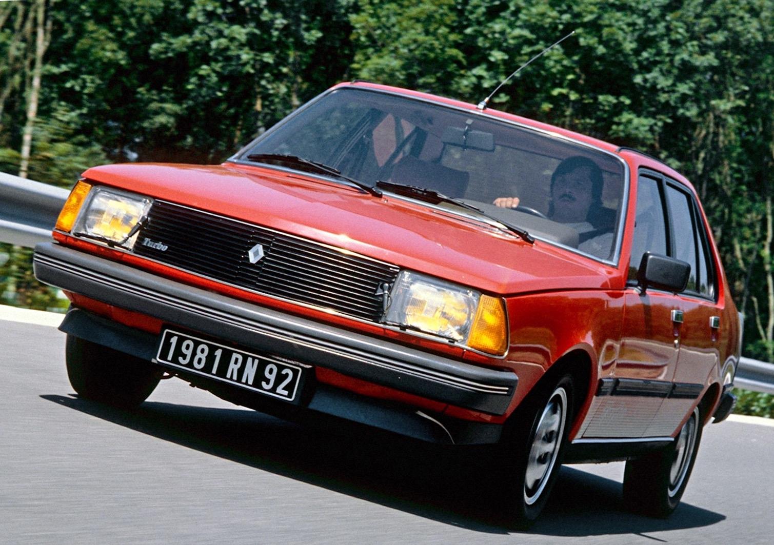 Renault 18 Turbo 1980 1985 La Premiere Berline Suralimentee De Renault Des 3 500