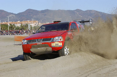 Rallye des Pharaons: l'Yvan de sable a soufflé