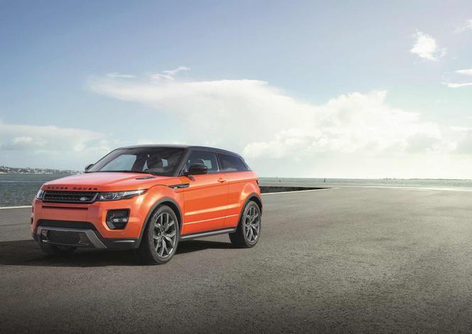 Toutes les nouveautés du salon de Genève 2014 - Le Range Rover Evoque affiche dorénavant 285 ch