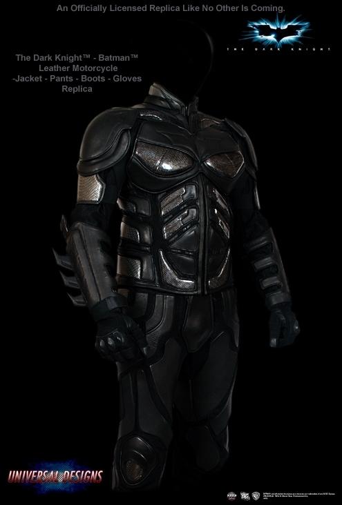 La panoplie de Batman réservée aux motards du nouveau continent…