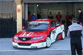 WTCC - Honda: L'aventure commence avec N'Technology