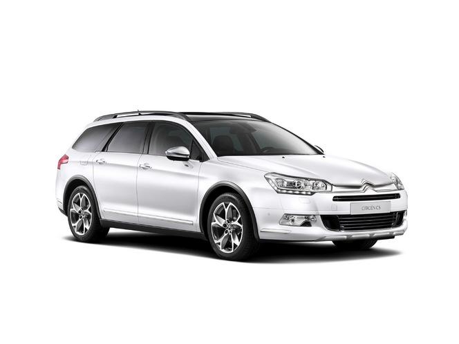 Toutes les nouveautés du salon de Genève 2014 - Citroën C5 Cross Tourer : chevrons boueux