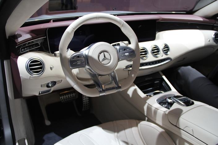 Mercedes Classe S Coupé et Cabriolet : déjà restylées ! - en direct du Salon de Francfort 2017