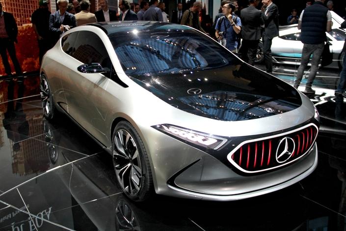 Mercedes EQA Concept : la prochaine Classe A - en direct du Salon de Francfort 2017