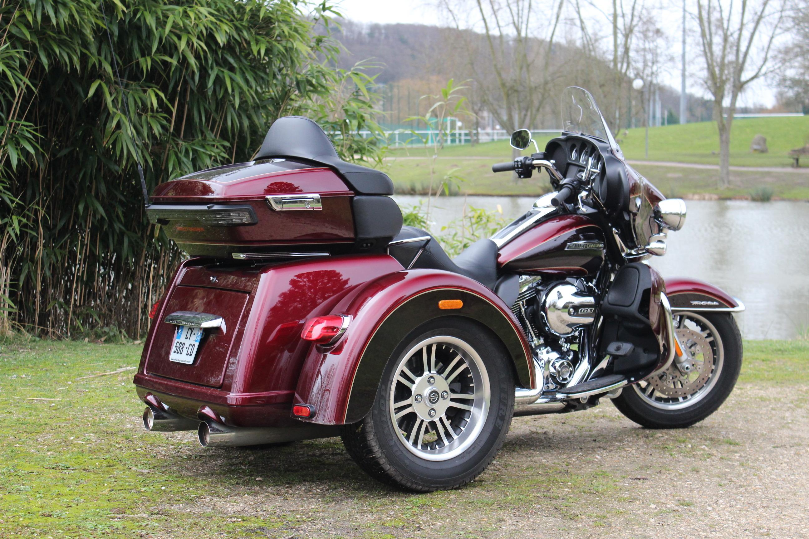 Essai Vid 233 O Harley Davidson Triglide Quand Harley Rime