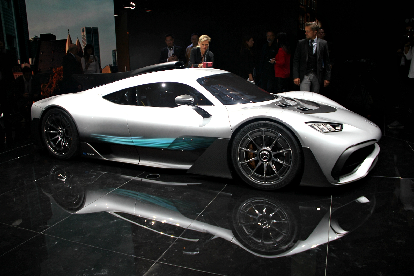 Mercedes AMG Project One: une F1 pour la route- en direct du Salon de Francfort 2017