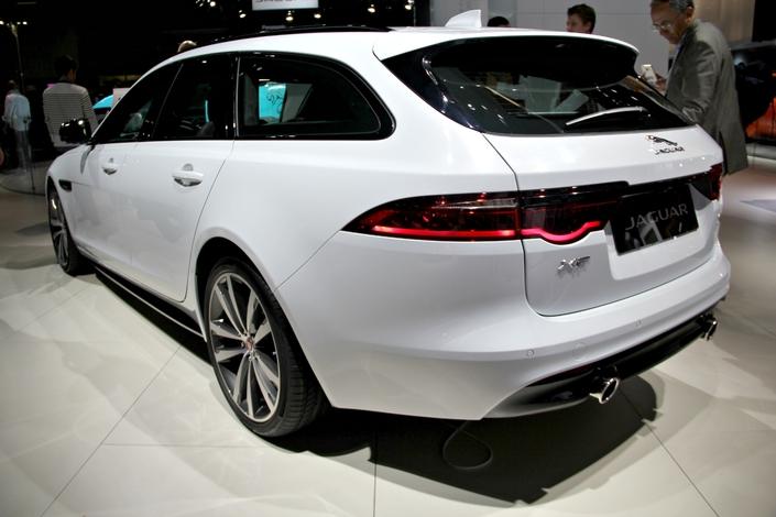Jaguar XF Sportbrake : mieux vaut tard... - en direct du Salon de Francfort 2017