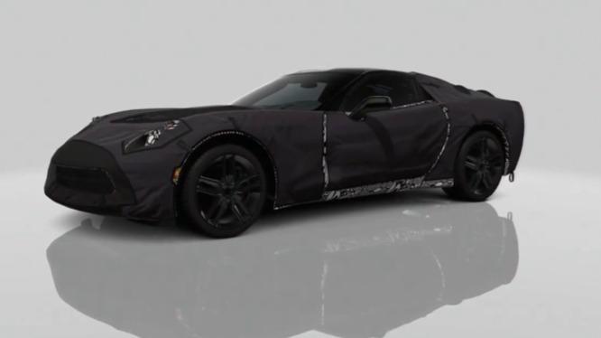 Nouvelle Chevrolet Corvette : à découvrir (camouflée) dans Gran Turismo 5