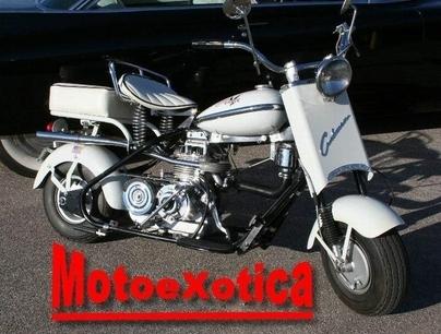 Moto & Sexy : Cushman Eagle Husky 1956