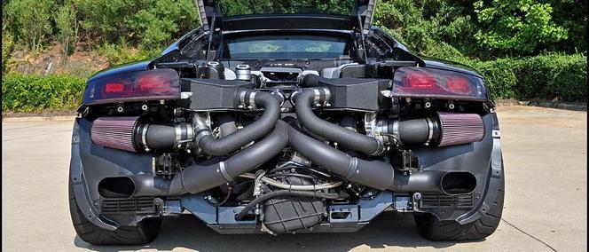 Audi R8 V10 TwinTurbo Underground Racing : parce que le monde a besoin de voitures de 1 500 ch