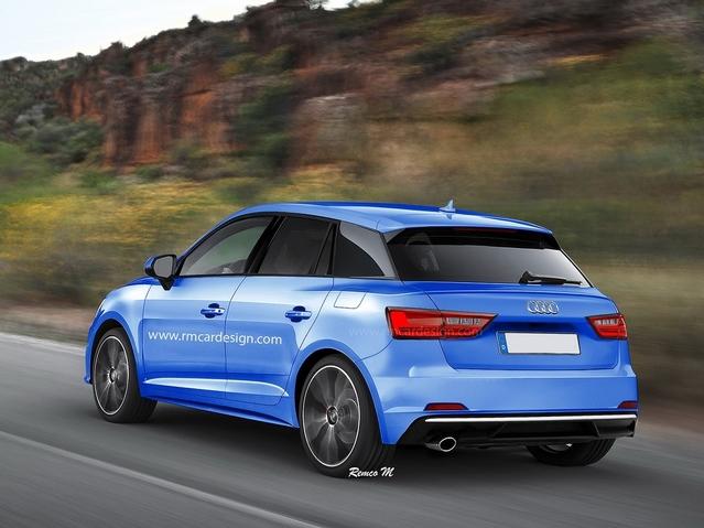 Un graphiste imagine la future citadine Audi A1