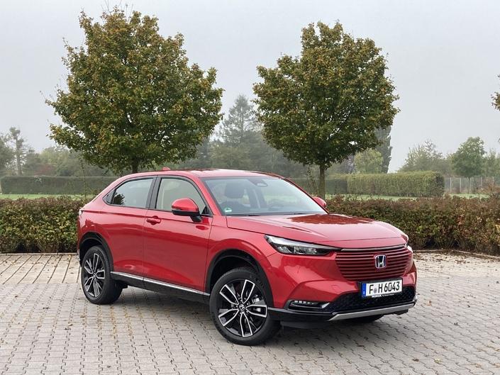 Honda HR-V (2021) : les premières images en direct de l'essai