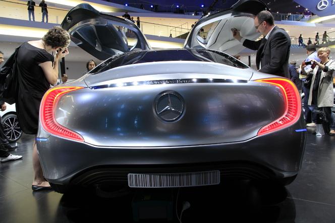 En direct du salon de Francfort 2011 - Vidéo - Mercedes F125! Concept, le haut de gamme étoilé de demain