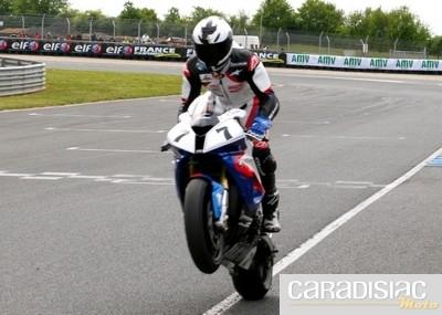 Championnat de France Superbike au Vigeant (86) : Erwan Nigon dominateur.