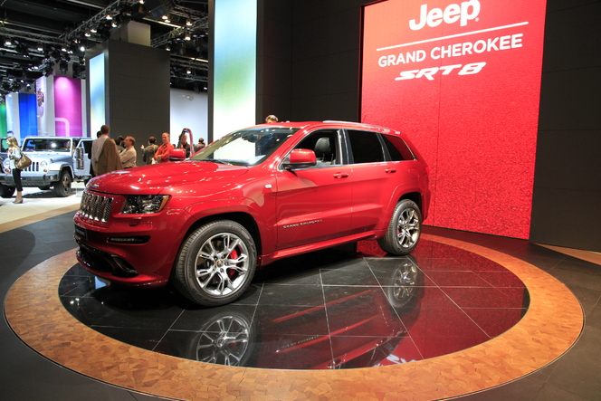 En direct du salon de Francfort 2011 - Jeep Grand Cherokee SRT8, pas si terrifiant
