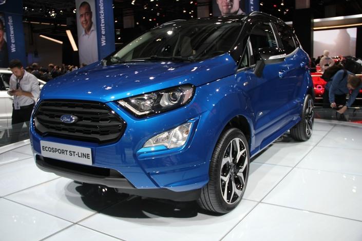 Ford EcoSport restylé : un beau progrès - vidéo en direct du Salon de Francfort 2017