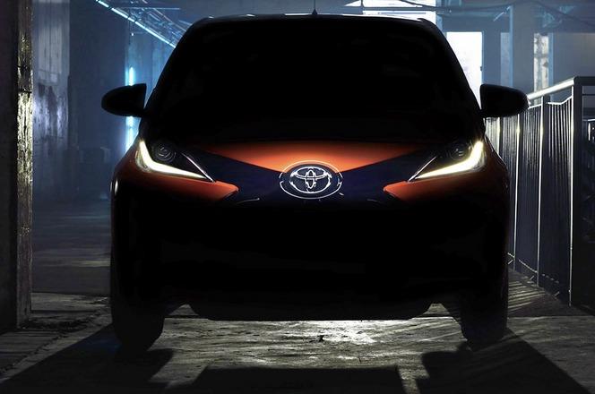 Genève 2014 : la nouvelle Toyota Aygo s'approche