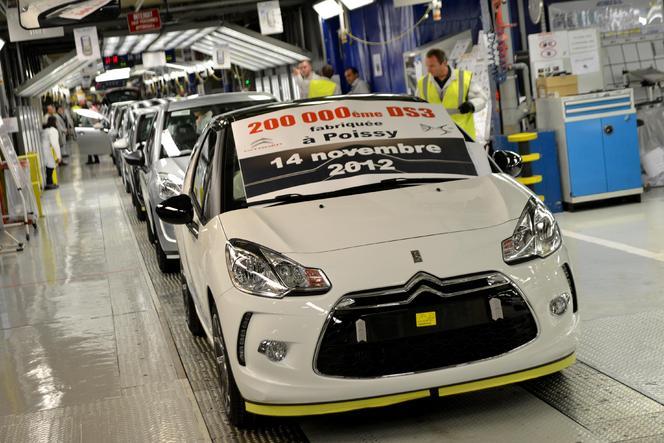 La 200.000eme Citroën DS3 est sortie de chaîne