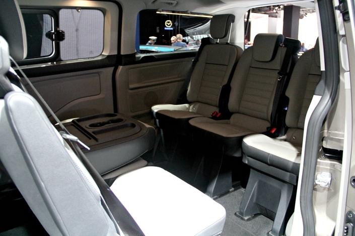 Ford Tourneo Custom restylé : un train pour la route - en direct du Salon de Francfort 2017