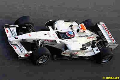 Formule 1 - Super Aguri: Test réussi pour la SA08