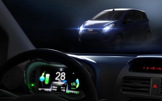 Los Angeles 2012 : Chevrolet dévoilera sa Spark électrique