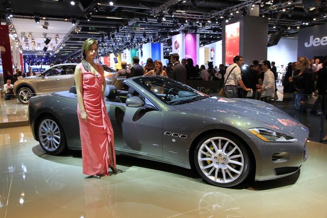 Salon de Francfort 2011 Live : Maserati GranCabrio Fendi, pour sortir bien habillé