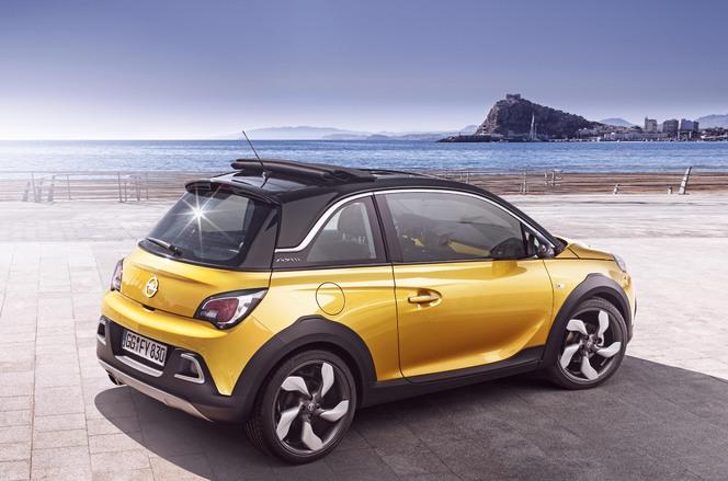 Toutes les nouveautés du salon de Genève 2014 - Opel Adam Rocks : mini crossover