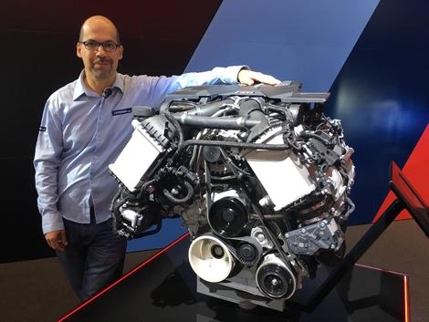 J'aime le moteur de cette nouvelle M5. Même sans l'avoir conduit, je suis sûr que c'est une tuerie.