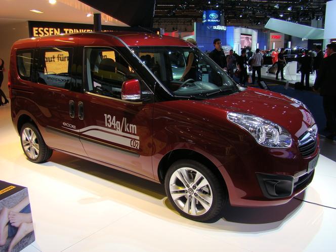 En direct du salon de Francfort : Opel Combo, un parfum d'Italie