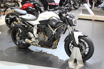 Vidéo en direct du salon de Paris 2013: Yamaha MT-07
