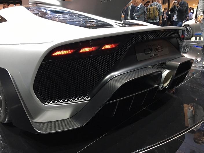 Mercedes-AMG Project One : les premières images en live - Salon de Francfort 2017
