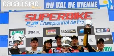 Trophée Pirelli 600 au Vigeant : Echard prend la tête du classement provisoire au détriment de Mahias.
