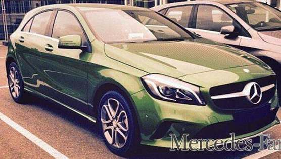 Surprise : la Mercedes Classe A restylée se montre toute nue
