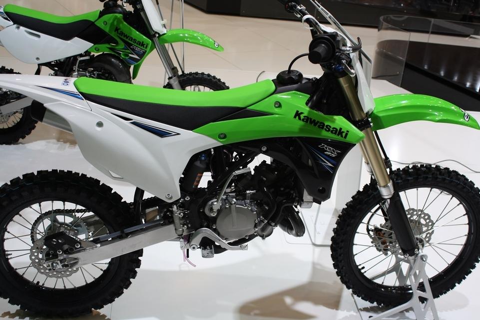 En direct du Salon de la Moto : Kawasaki 85 KX pour les plus petits
