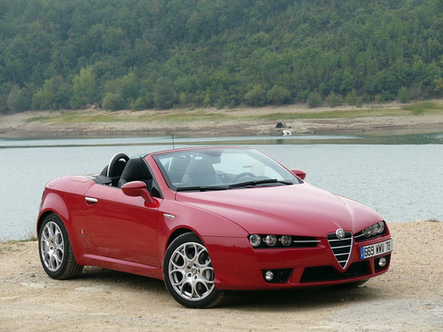 auto tuning m glichkeit pub alfa romeo spider. Black Bedroom Furniture Sets. Home Design Ideas