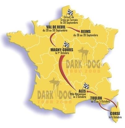 Dark Dog Moto Tour 2008