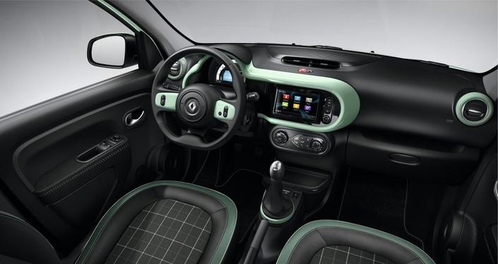 Renault Twingo La Parisienne: petit clin d'œil à la 4L