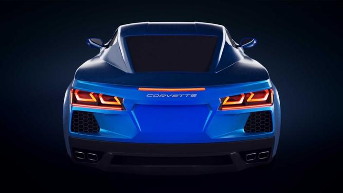 Voici à quoi pourrait ressembler la Chevrolet Corvette C8