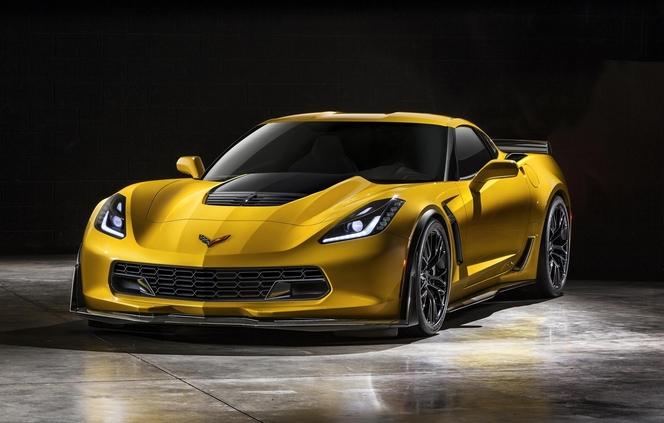 Toutes les nouveautés du salon de Genève 2014- Chevrolet Corvette Z06: brûleuse d'icônes