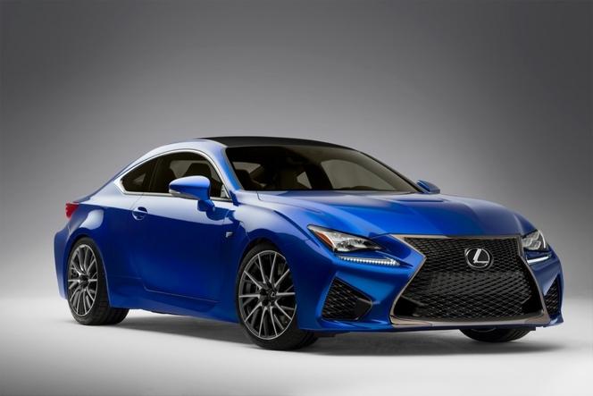 Toutes les nouveautés du salon de Genève 2014- Lexus RC-F: 450 ch toujours atmo