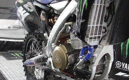La 450 Yamaha de Shaun Simpson