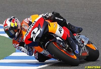Moto GP - Espagne D.2: Pedrosa répond