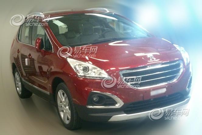 Peugeot 3008 restylé : d'abord pour la Chine