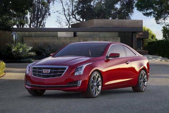 Toutes les nouveautés du salon de Genève 2014 – Cadillac ATS Coupé : essence only